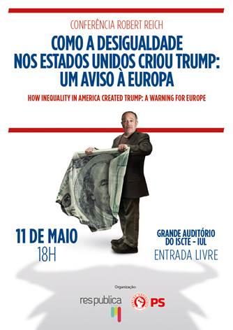 Robert Reich | Como a desigualdade nos Estado Unidos criou Trump: um aviso à Europa