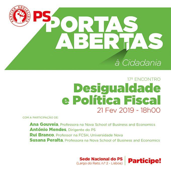 Portas Abertas | Desigualdade e política fiscal